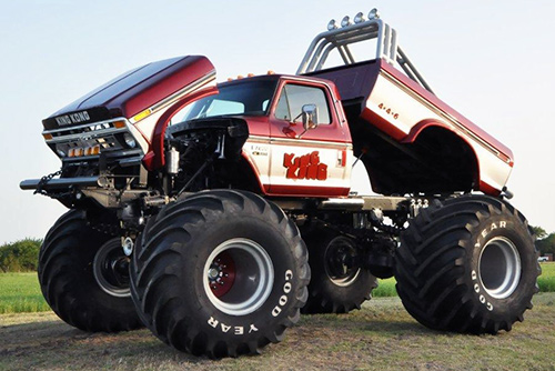 IMTM Inductee Class of 2010 Jeff Dane's King Kong monster truck.