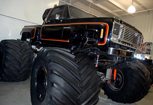Fil Tristan's original Titan monster truck.