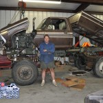 Jeff Dane with the Kong Monster Truck. Keep up the great work, Jeff!