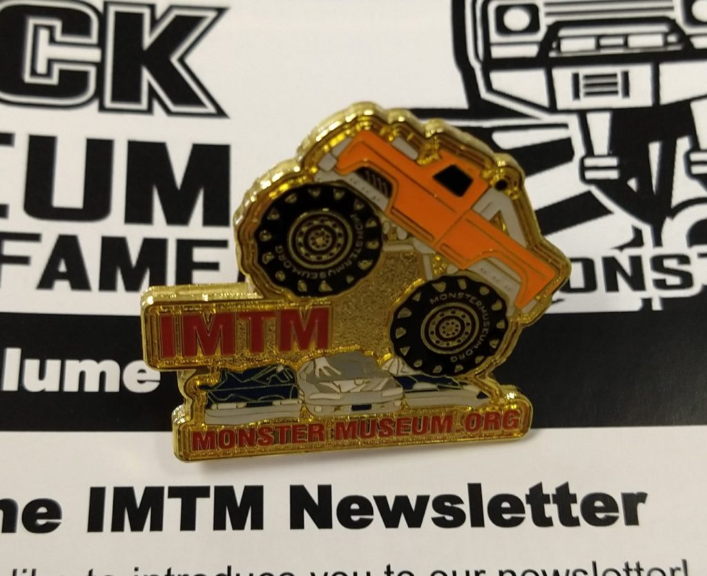 Monster Truck Pin